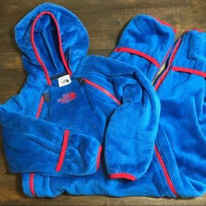 The North Face fleece coverall